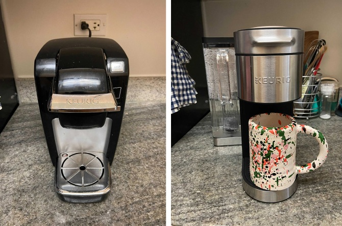 keurig review old new I Got A New Keurig After 10 Years & Wow, My Whole Life Is Better