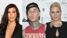 Kourtney Kardashian Met Travis Barker's Kids & Here's How His Ex-Wife Feels About It