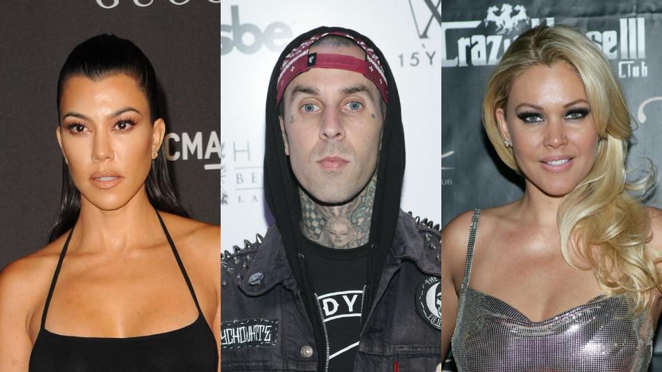 Kourtney Kardashian, Travis Barker, Shanna Moakler