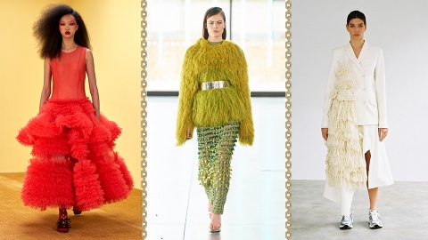 Excuse Me While I Gush Over These London A/W21 Fashion Week Looks | StyleCaster