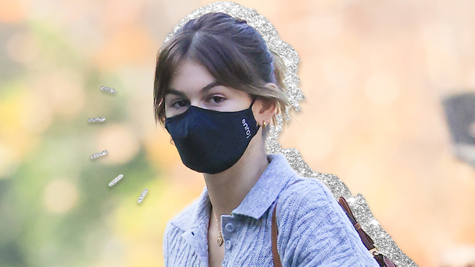 Kaia Gerber's $16 Black Face Mask Is Model-Approved