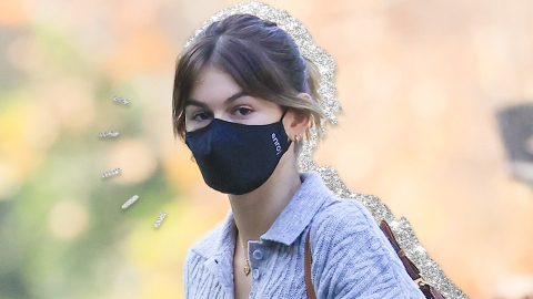 Kaia Gerber's $16 Black Face Mask Is Model-Approved | StyleCaster