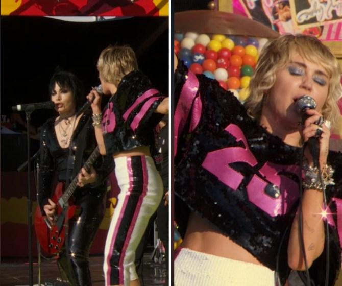 STYLECASTER |  Look del Super Bowl di Miley Cyrus