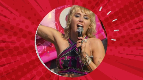 Miley Cyrus' Super Bowl Look Gives Me Rockstar Cheerleader Realness | StyleCaster