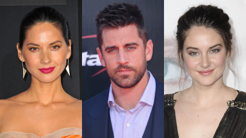 Here's What Olivia Munn Thinks of Aaron Rodgers' Surprise Engagement to Shailene Woodley | StyleCaster