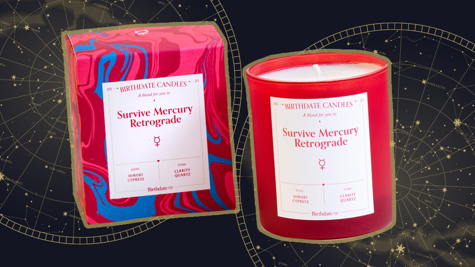 This Chic Candle Protects Against Mercury Retrograde's Bad Vibes | StyleCaster