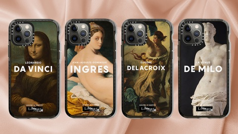The Louvre x Casetify Collection Is The Epitome Of Museumcore | StyleCaster
