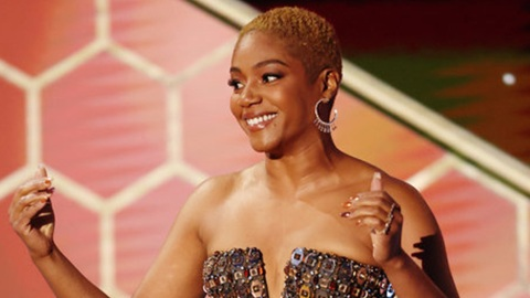 Tiffany Haddish Sparkled Brighter Than Anyone Else At The Golden Globes | StyleCaster