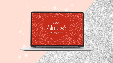 11 Valentine's Day Zoom Backgrounds For Long-Distance Lovers | StyleCaster