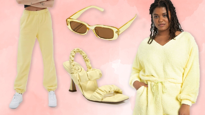 yellow pink 6 Color Trends Destined To Take Over The Fashion World