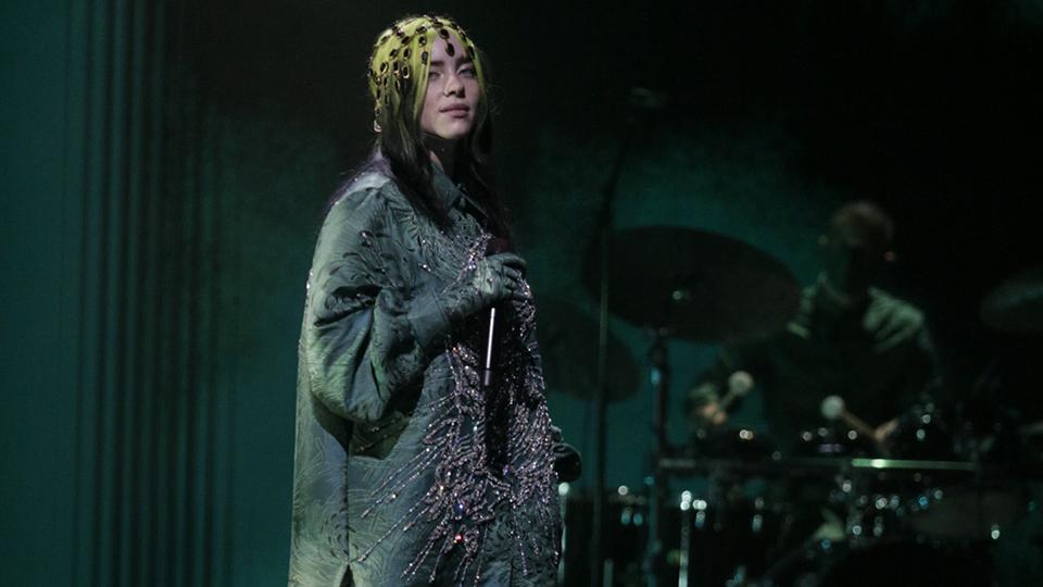 Billie Eilish Grammys 2021