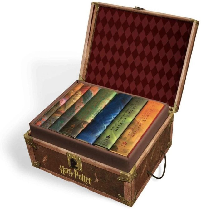 Harry Potter Books chest