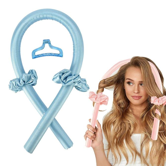 Heatless Curlers Headband Overnight Rollers Grab These New Amazon Beauty Steals Way Before Prime Day