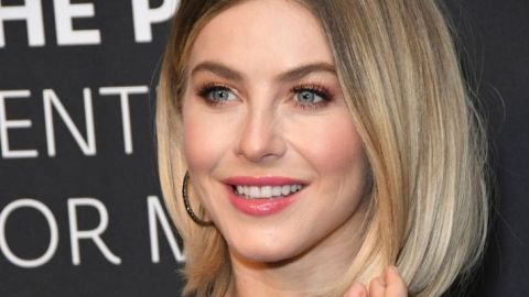 Julianne Hough's 'Naturally Nude' Hair Is Going To Be A Huge Spring Trend | StyleCaster