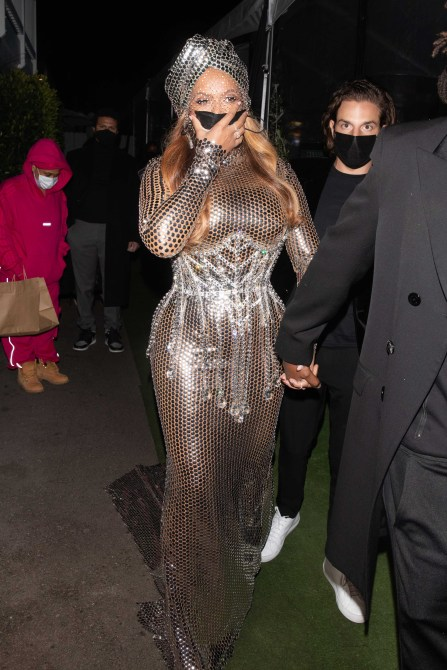 STYLECASTER | Beyonce Grammys After Party Look 2021