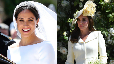 Here's the Truth About Meghan Markle & Kate Middleton's 'Flower Girl Dresses' Drama | StyleCaster