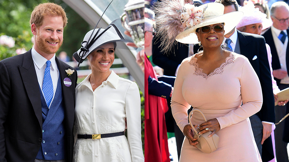 Prince Harry, Meghan Markle, Oprah