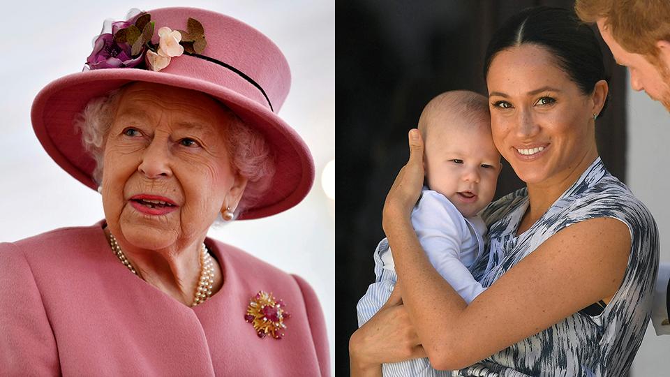 Queen Elizabeth II, Meghan Markle, Archie