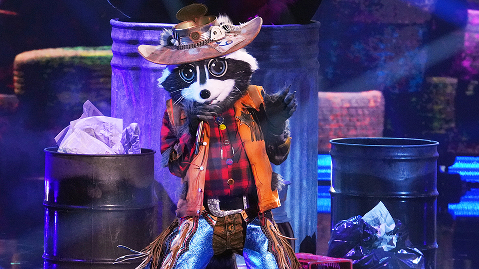 """Raccoon, """"The Masked Singer"""""""