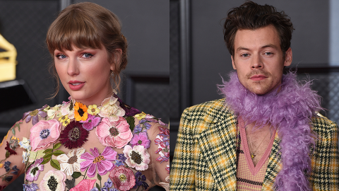Exes Taylor Swift & Harry Styles Reunited at the Grammys & Fans Read Their Lips | StyleCaster