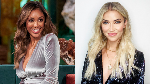 Chris Is Out—Here's Why Tayshia & Kaitlyn Are Hosting the Next 'Bachelorette' Season | StyleCaster