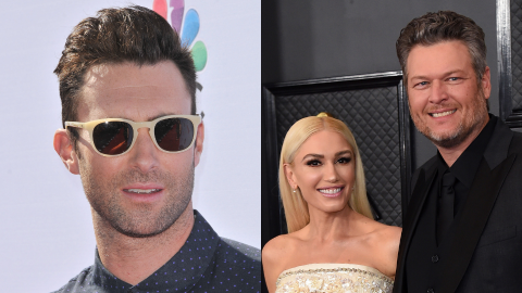 Adam Levine Jokes He Won't Sing at Blake & Gwen's Wedding Because They 'Can't Afford' Him | StyleCaster