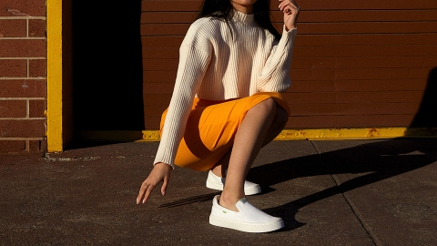Cariuma's New Slip-Ons Are Incredibly Sustainable—& Hella Cute | StyleCaster