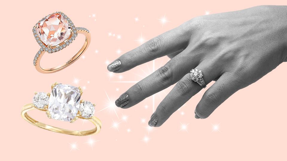 5 Celebrity-Inspired Engagement Ring Dupes Under $500