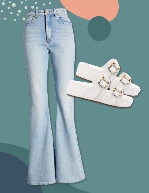 STYLECASTER |  Come abbinare i jeans a zampa d'elefante