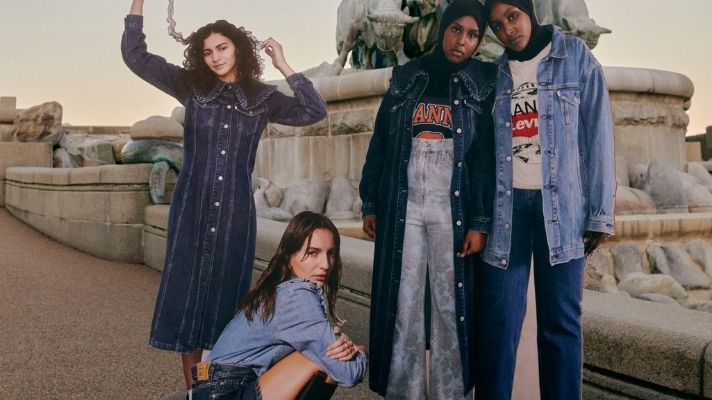 The Ganni x Levi's Jeans Are So Good, Millennials & Gen Z Can Agree For Once