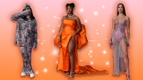 Every Drool-Worthy Fashion Moment From The 2021 GRAMMY Awards | StyleCaster