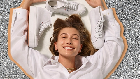 Hailey Bieber Is Now The Face Of Superga, So I'm Buying A New Pair Of Sneakers | StyleCaster