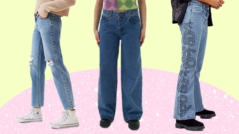12 Pairs Of Low-Rise Jeans For A Major Midriff Moment | StyleCaster
