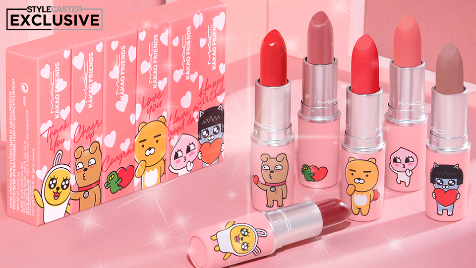 M.A.C.s Kakao Friends Collab Is Cuteness Overload With Bold New Shades