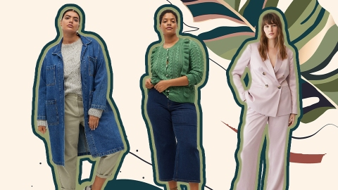 Did Anyone Else Know About Mango's Plus-Size Collection? | StyleCaster