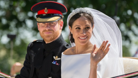 This Royal Family Member May Have Just Shaded Meghan & Harry on Their Wedding Anniversary   StyleCaster
