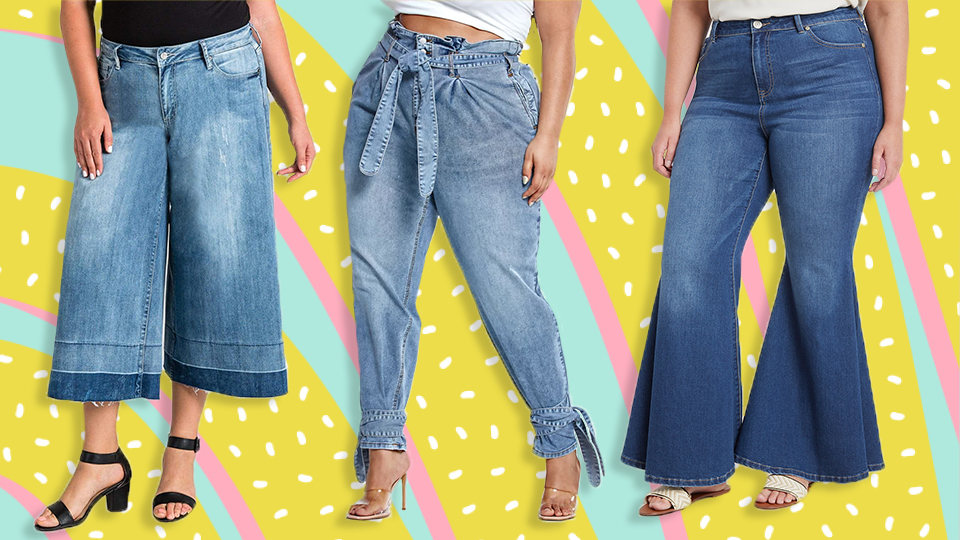Just 12 Cute Pairs Of Plus-Size Jeans You'll Actually Want To Buy