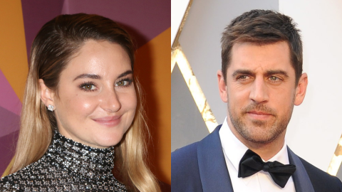 Here's a Complete Timeline of Aaron Rodgers & Shailene Woodley's Whirlwind Relationship | StyleCaster