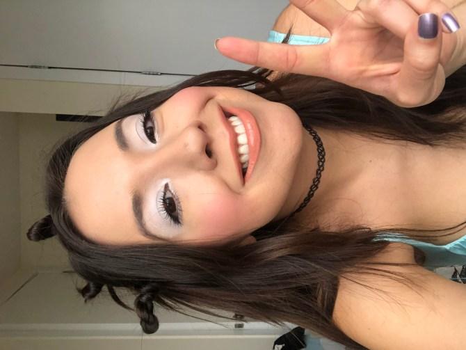 white eyeshadow trend