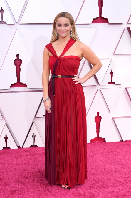 STYLECASTER | Reese Witherspoon Oscars 2021 Look