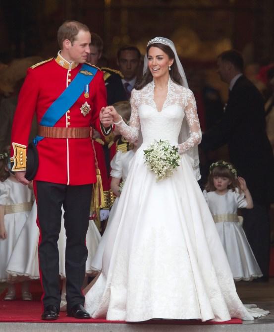 STYLECASTER | Kate Middleton Anniversary Portrait Dress