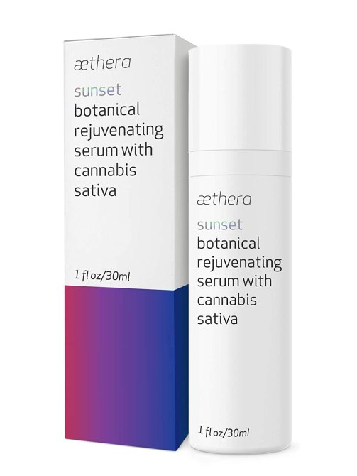 Aethera Beauty Botanical Rejuvenating Cannabis This Skincare Ingredient Treats Acne, Hyperpigmentation & Dry Skin—All At Once