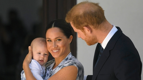 Harry & Meghan Are Giving Archie 'All the Attention' Before His Baby Sister Comes | StyleCaster