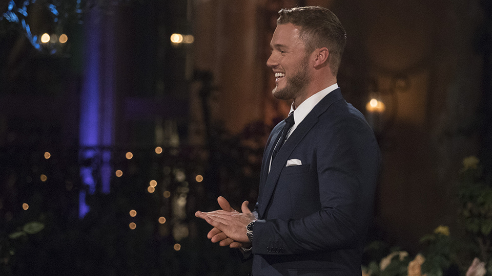 "Colton Underwood, ""The Bachelor"""