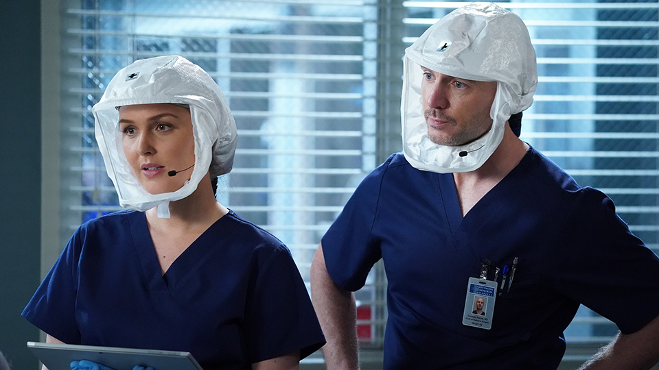 Here Are What Those Helmet Masks Are on 'Grey's Anatomy' & Where You Can Get One | StyleCaster