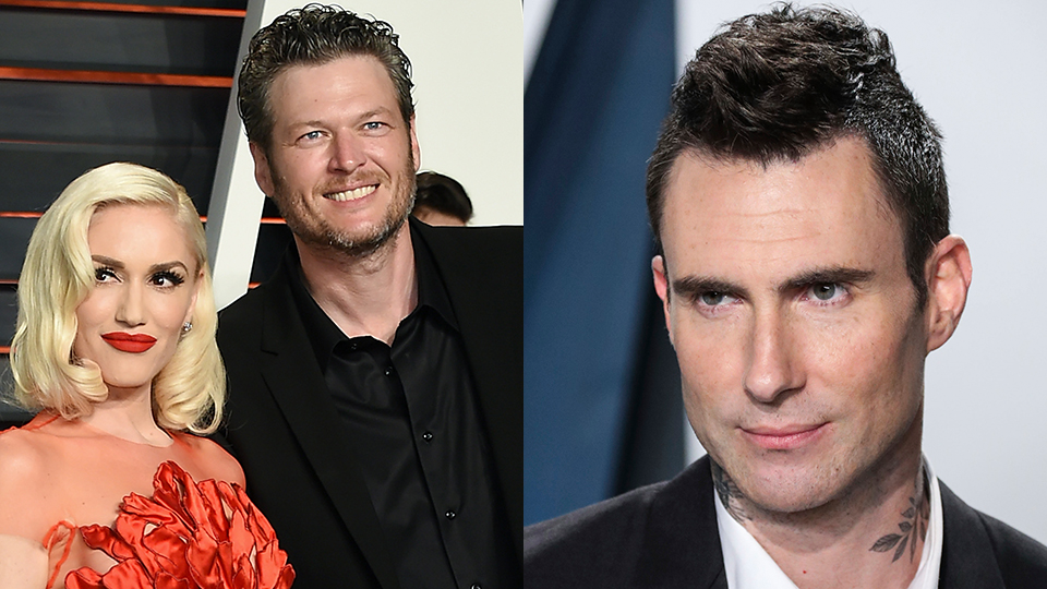 Gwen Stefani, Blake Shelton, Adam Levine
