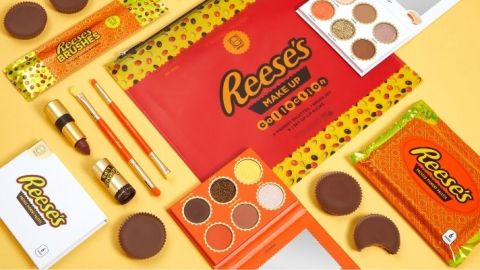 HipDot's Reese's Collection Features Actually Cool Makeup Shades That Smell Like Chocolate | StyleCaster