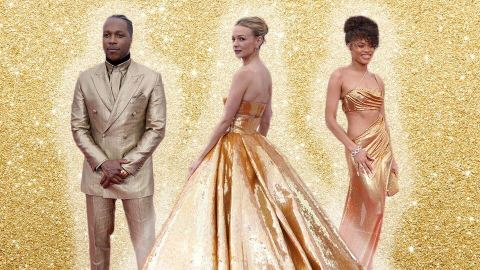 The Biggest Oscars Fashion Trend Is Dressing Like An Actual Oscar | StyleCaster
