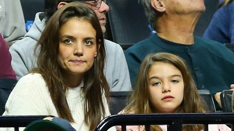 Katie Holmes Shared a Rare Photo of Suri For Her 15th Birthday & She's Grown Up So Much | StyleCaster