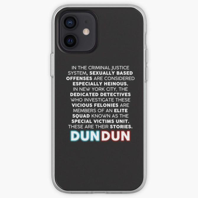 'Law & Order: SVU' Opening Speech Phone Case